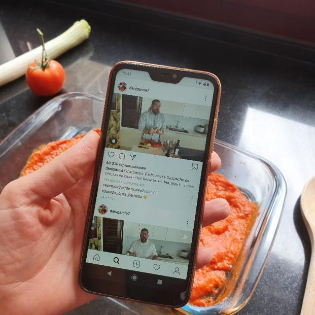 Cocina de cuarentena: grandes chefs explican sus recetas en redes sociales