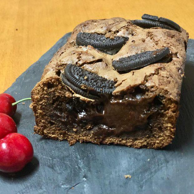 Brownie de chocolate con galletas oreo: las recetas de cocina de Eloy Moral