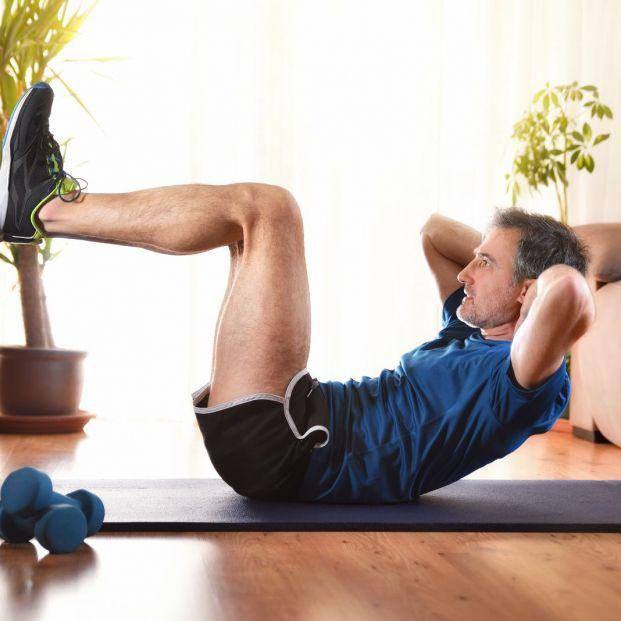 ¡Cuidado! También te puedes lesionar haciendo ejercicio en casa