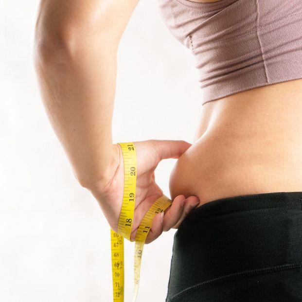 bigstock Fat Woman Fat Belly Chubby  356640593