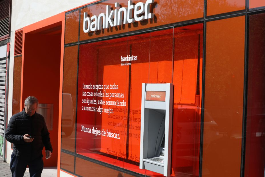 Cajero banco bankinter