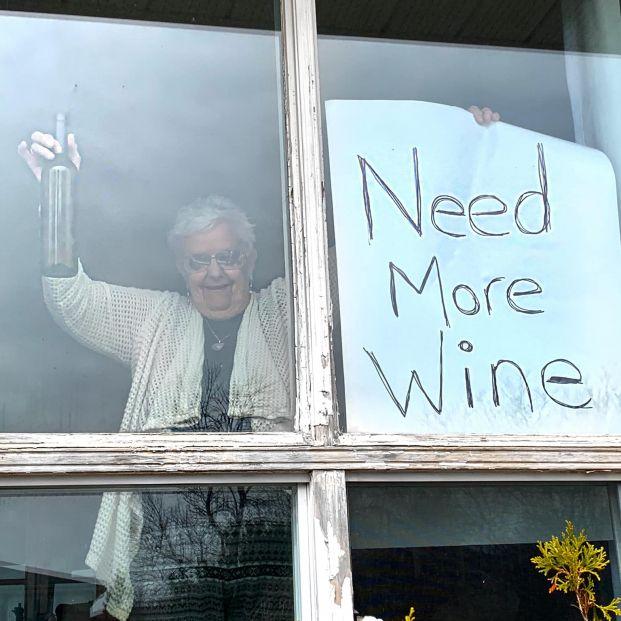 Annette Muller ya tiene su vino gracias a unos españoles