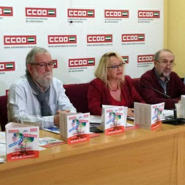 Reunión CCOO en Mérida