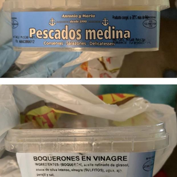 Alerta por presencia de anisakis en boquerones en vinagre