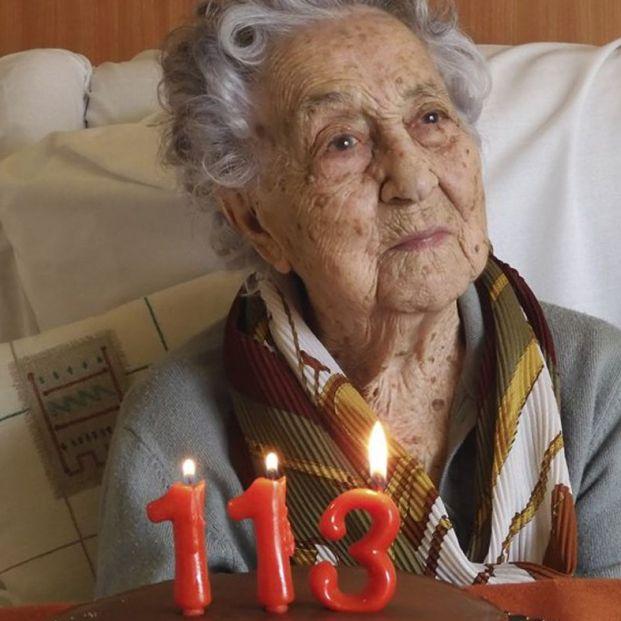 María Branyas de 113 años. Las 10 buenas noticias del coronavirus de hoy 19 de julio