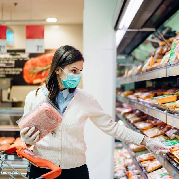 Ni rastro de coronavirus en los envases de los alimentos del supermercado