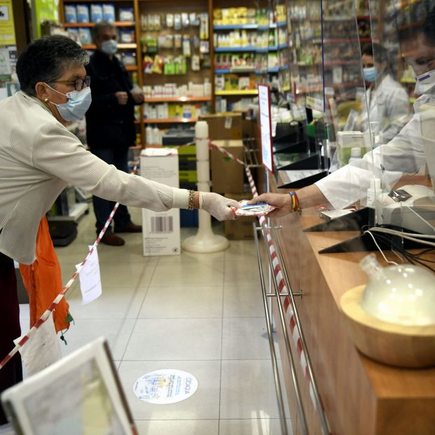 Farmacias durante la pandemia. Foto: Europa Press