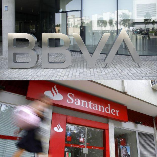 Santander y BBVA, los grandes bancos que pierden más patrimonio de fondos de pensiones en un año