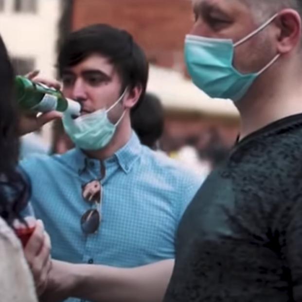 El impactante vídeo de Véneto (Italia) para concienciar sobre los riesgos de la desescalada