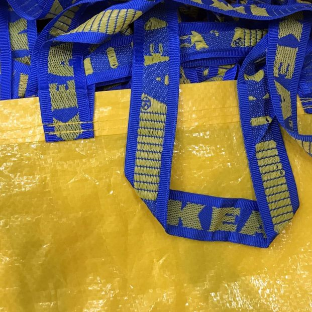 Ikea bolsa amarilla