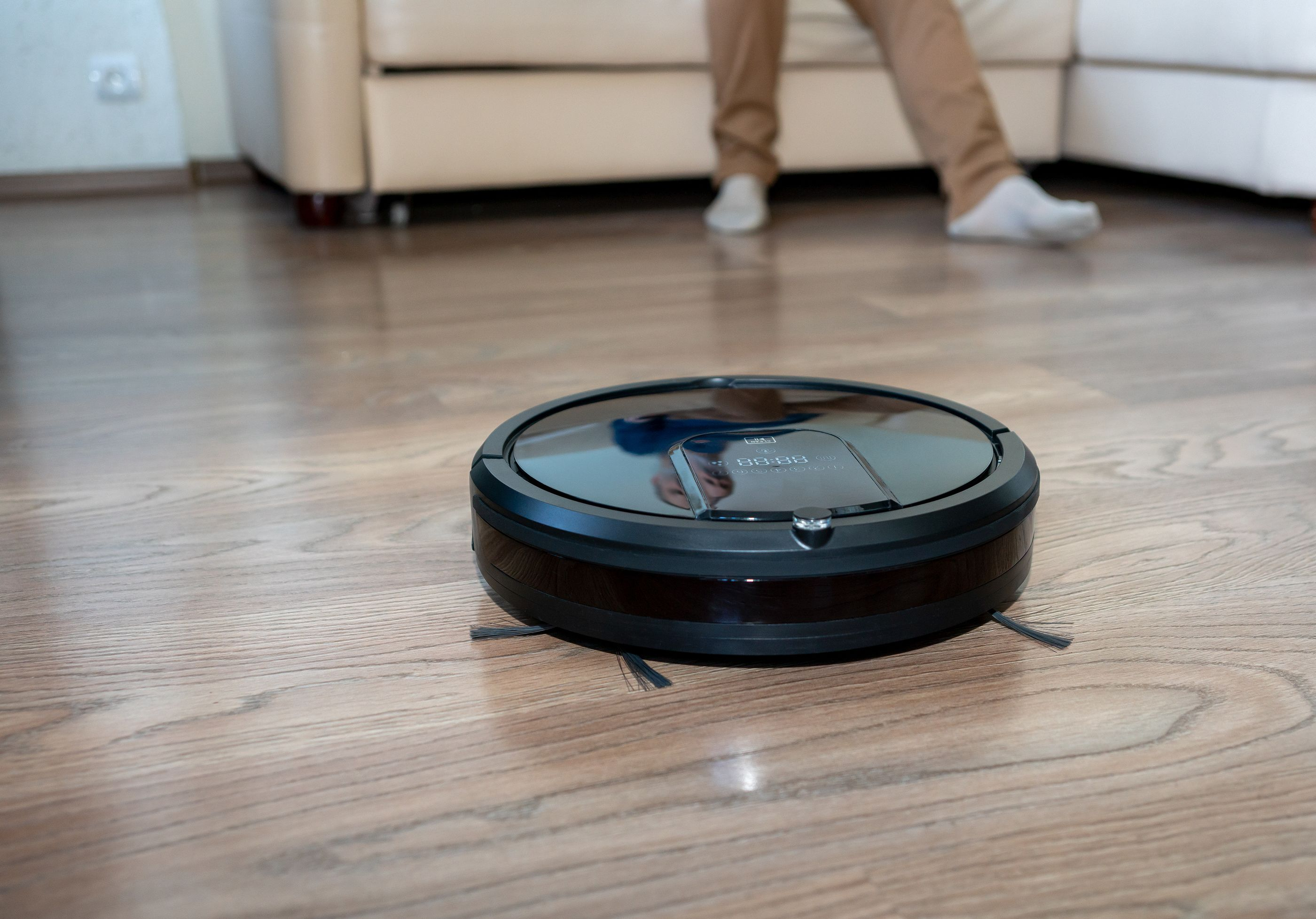 Los robots aspiradores en los hogares