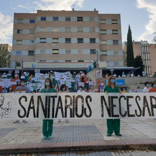 EuropaPress 3166014 sanitarios reivindican sanidad publica hospital gregorio maranon