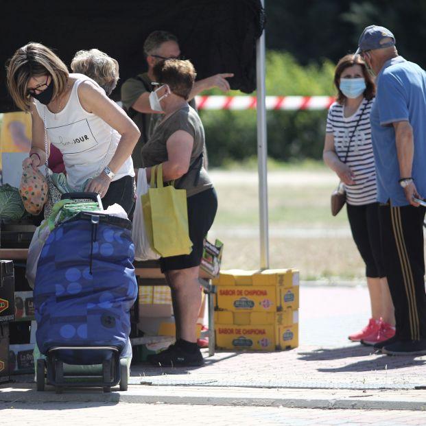 La obligación de llevar mascarillas tiene un coste de 110 euros al mes para una familia tipo