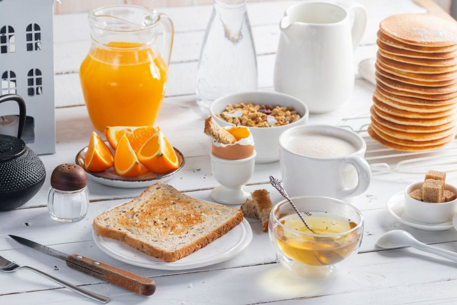 bigstock Healthy Breakfast Eating Conce 286072492