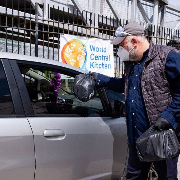 Las 10 buenas noticias del coronavirus de hoy 4 de junio. Foto: World Central Kitchen