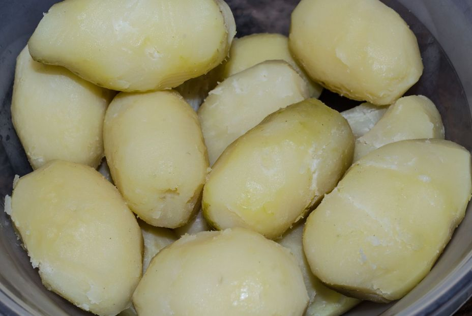 bigstock Boiled Potatoes That Have Been 332307208