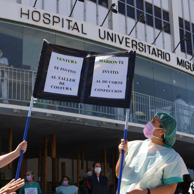 El Gobierno de Aragón, condenado por no suministrar material de protección a los sanitarios
