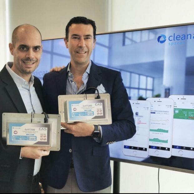Dos españoles crean DuctFIT, tecnología de purificación de aire que elimina el virus