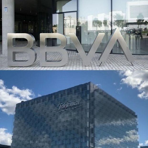 Los planes de pensiones de empleo de BBVA y Telefónica pierden un 9% en marzo y Novo Banco, un 22%