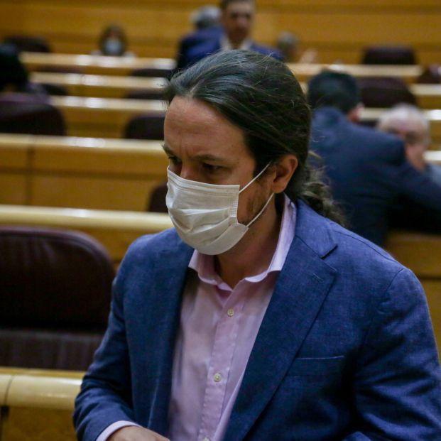 """Pablo Iglesias dice que lo ocurrido en las residencias de Madrid es """"un escándalo, si no un crimen"""""""