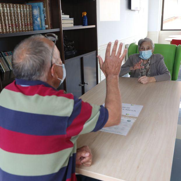 Reencuentros en las residencias de mayores