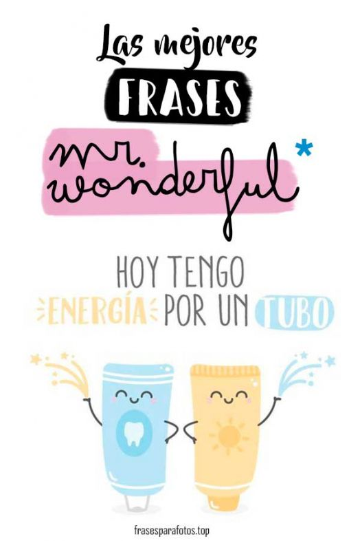 frases mr wonderful