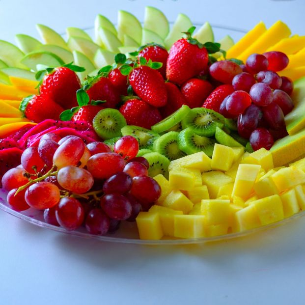 Tres frutas de temporada, tres presentaciones