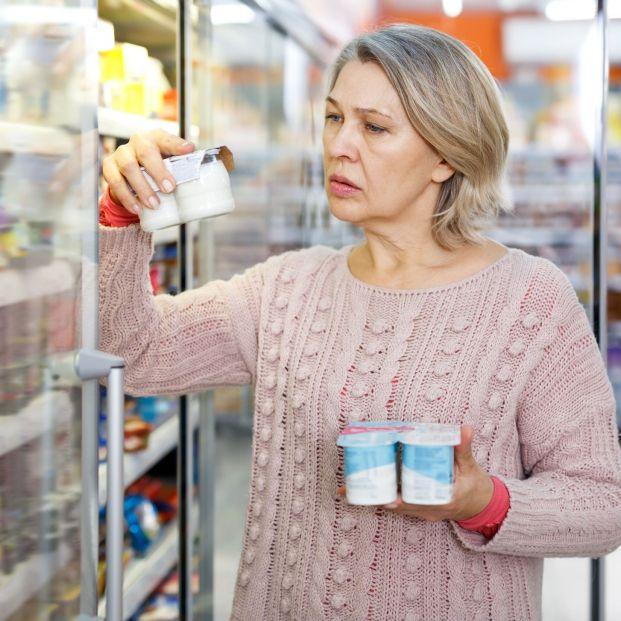 Ojo con la etiqueta de los productos de alimentación del supermercado