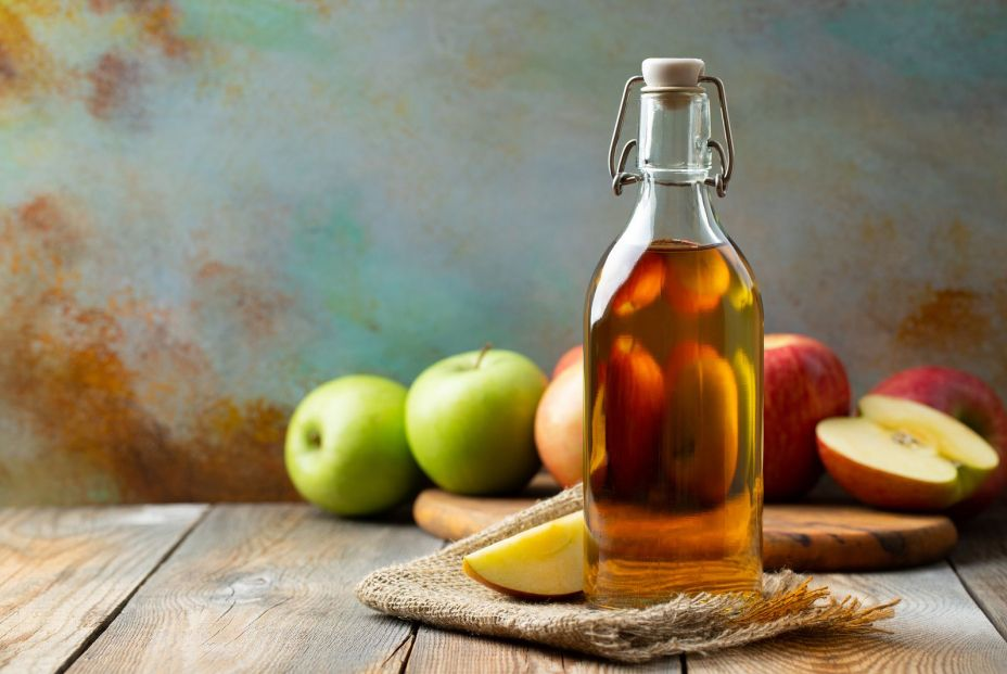 bigstock Apple Vinegar Bottle Of Apple 264355255