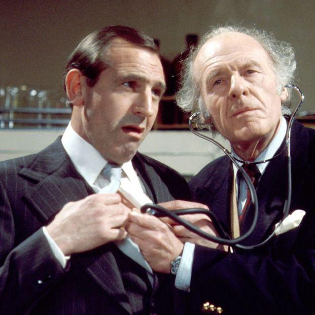 Rossiter como Reginald Perrin (BBC)