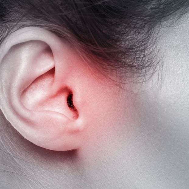 bigstock Close Up Of Female Ear With So 248169007