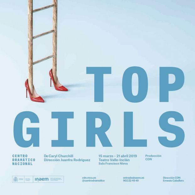 Cartel de 'Top Girls', obra del Centro Dramático Nacional