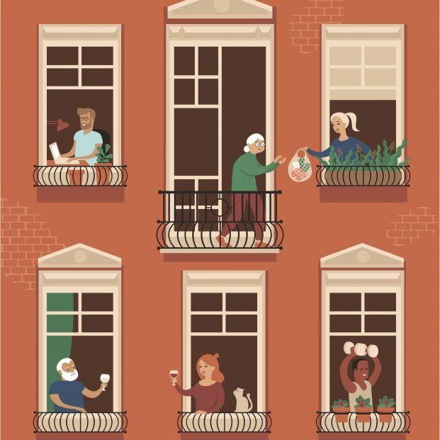 El barrio como una gran familia: Las comunidades de cuidados de los bancos de tiempo