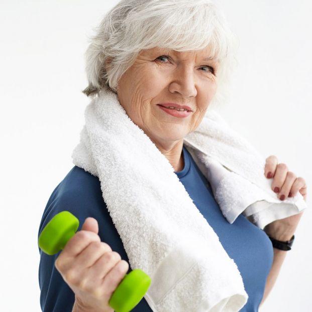 Fisioterapia y ejercicio contra la sarcopenia (bigstock)