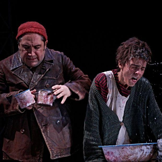 'La Strada' de Fellini (Teatro Abadía)