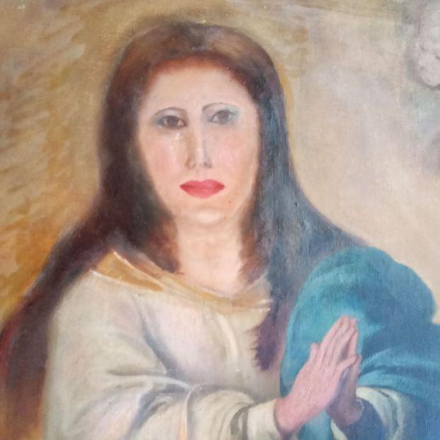 Este es el nuevo 'Ecce Homo': destrozan en Valencia una Inmaculada de Murillo al restaurarla
