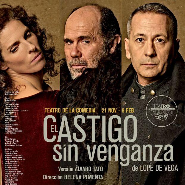 Cartel de 'El Castigo sin Venganza'