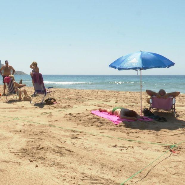 Cambios en las playas de Benidorm: el espacio para mayores pasa de los 70 a los 60 años