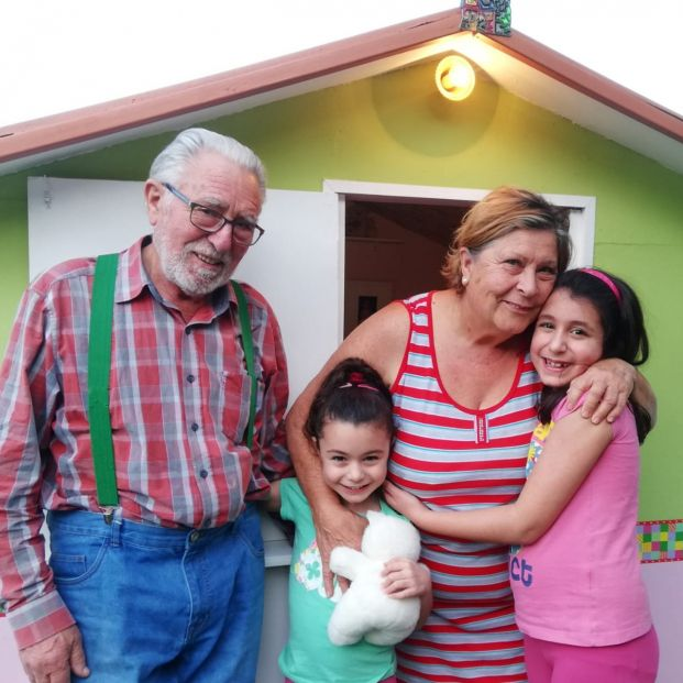 La gran sorpresa de Ricardo y Mercedes a sus nietas