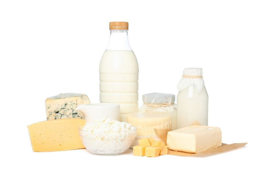 bigstock Fresh Dairy Products Isolated  322973314