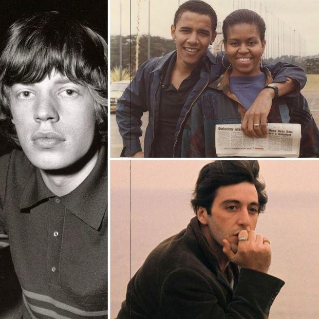 Los famosos como nunca antes los habías visto: sus fotos antiguas más desconocidas