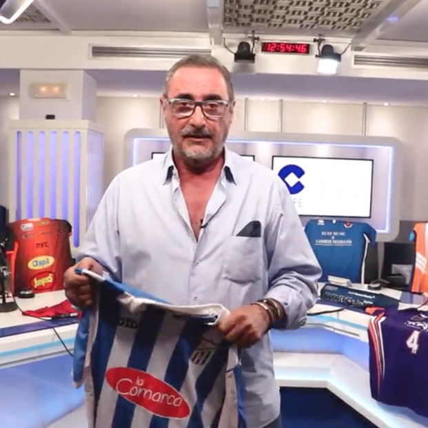 Carlos Herrera lanza una subasta de camisetas de deporte