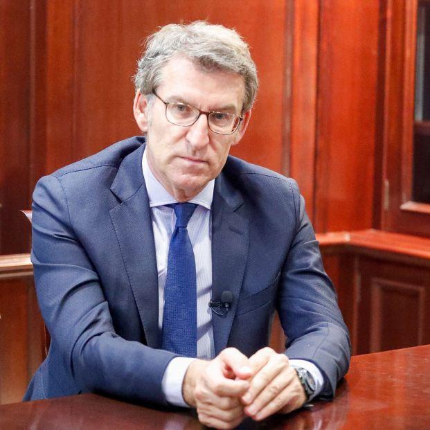 """Alberto Núñez Feijóo: """"Creo que Vox no va a entrar en el Parlamento gallego"""""""