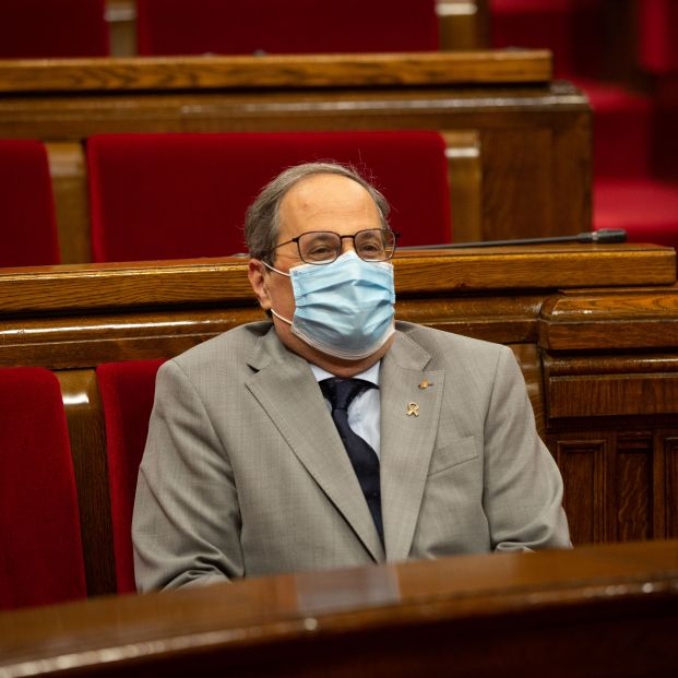 Cataluña endurecerá el uso de la mascarilla y obligará a llevarla aunque haya distancia social