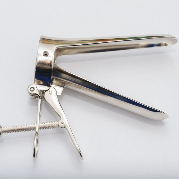 bigstock Vaginal Speculum On White Surf 292140532