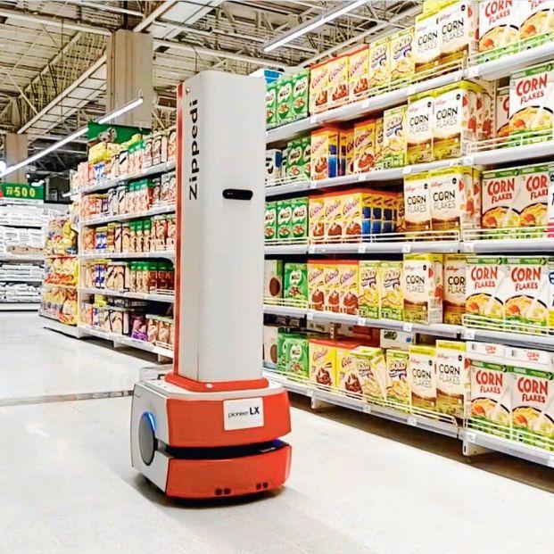 Robots anti COVID-19 para limpiar en los supermercados