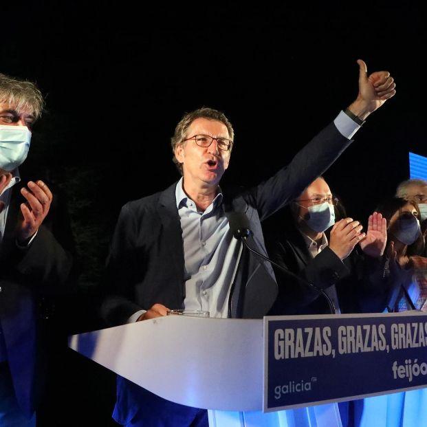 Elecciones 12-J: Feijóo, deslumbrante; la coalición, humillada
