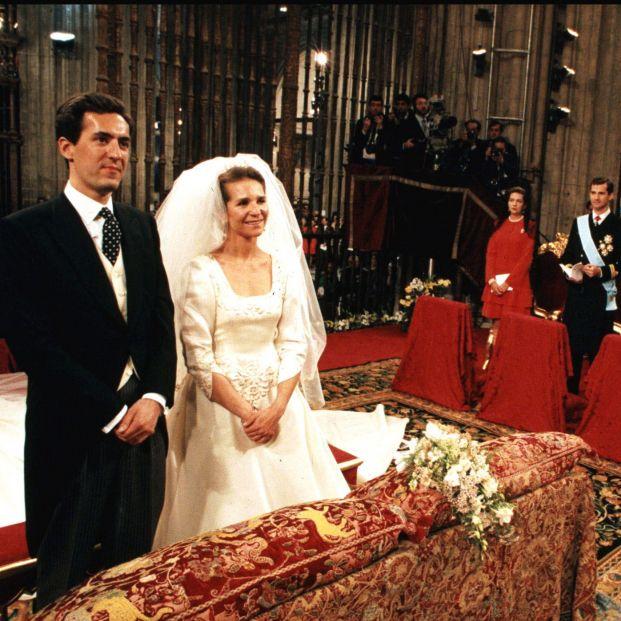 Ceremonia nupcial entre la Infanta Elena y Jaime de Marichalar (Casa Real)