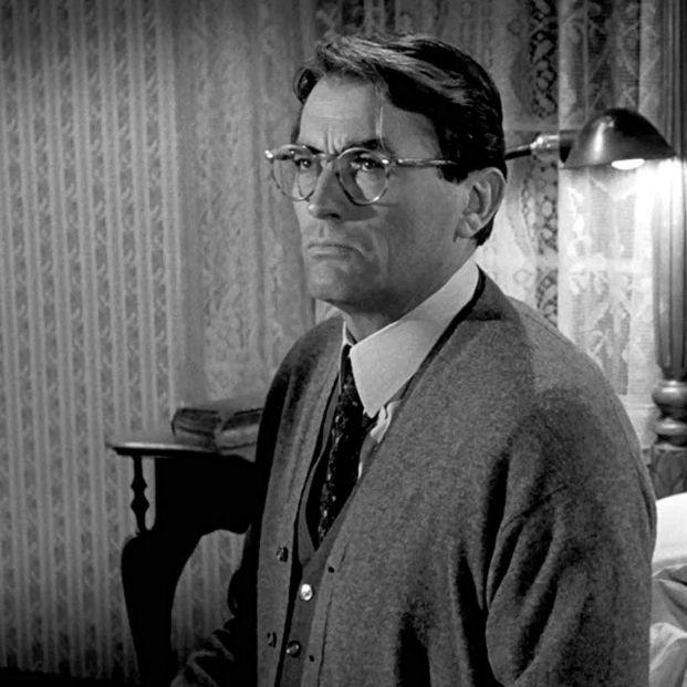 Mejores padres del cine: Gregory Peck en 'Matar a un Ruiseñor' (1962) (Universal Pictures)