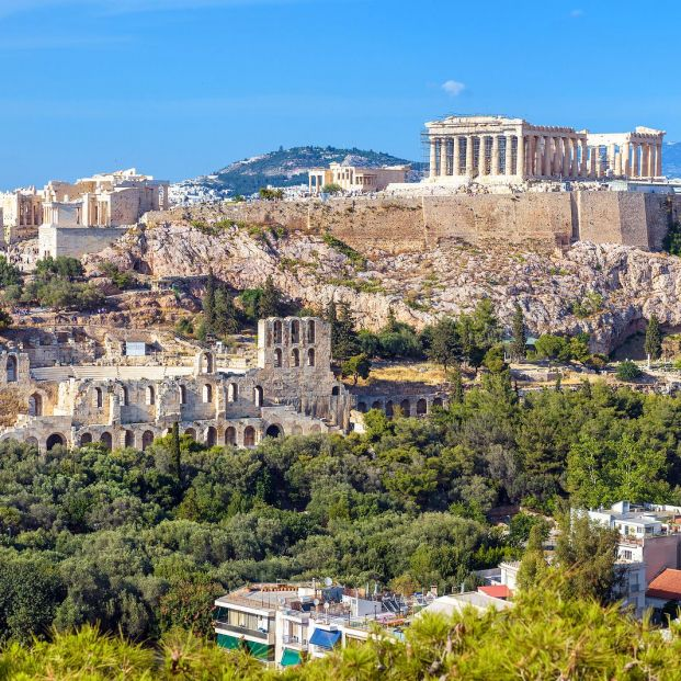 bigstock Athens Cityscape In Summer Gr 331376275